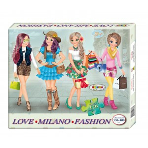 Image Puzzle Milano Fashion 120ps.