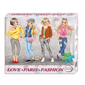 Image Puzzle Paris Fashion 120ps.