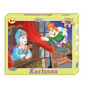 Image Puzzle Karlsson 120ps.