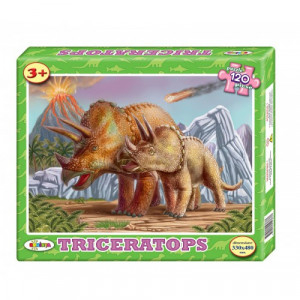 Image Puzzle Triceratops 120 ps.